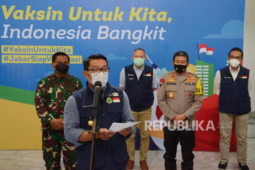 Gubernur Jawa Barat Ridwan Kamil.
