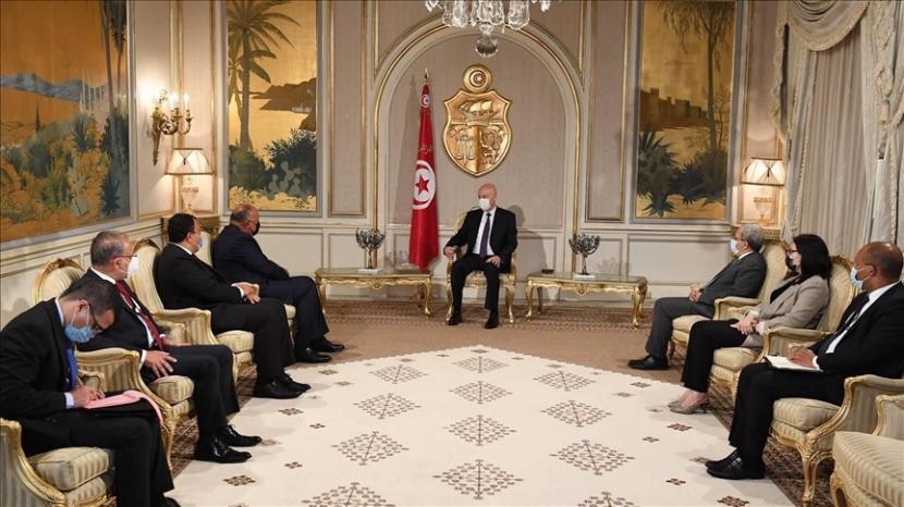 Menteri Luar Negeri Mesir Sameh Shoukry pada Selasa (3/8) mengatakan bahwa Presiden Abdel Fattah al-Sisi