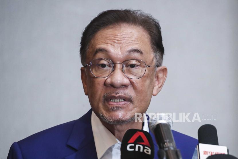 Pemimpin oposisi Malaysia Anwar Ibrahim.