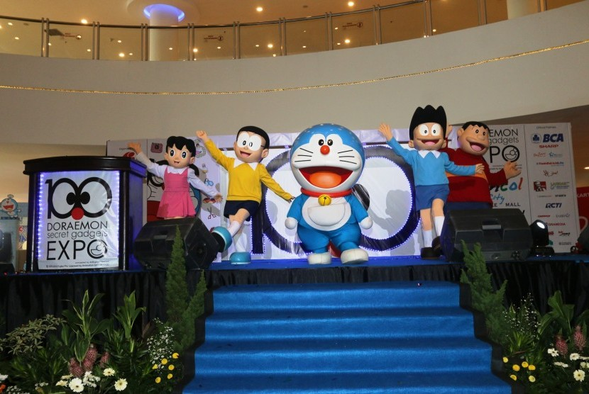 100 Doraemon Secret Gadget di Ancol Beach City Mall, Jakut.