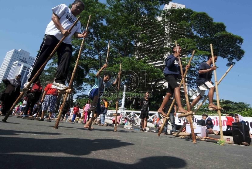 Komunitas Hong Dan Salicyl Gelar Permainan Tradisional Republika Online