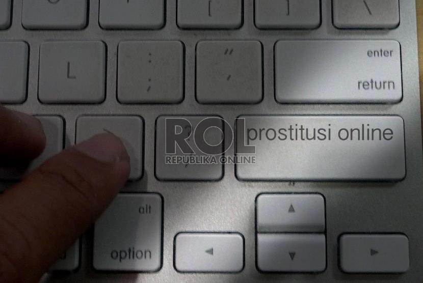 Prostitusi Online.    (ilustrasi)