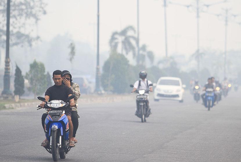 Dinkes Terbitkan Edaran Aturan Libur Kabut Asap Republika