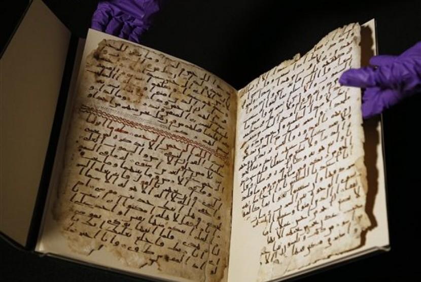 5 Manuskrip Alquran Tertua yang Pernah Ditemukan di Dunia | Republika Online