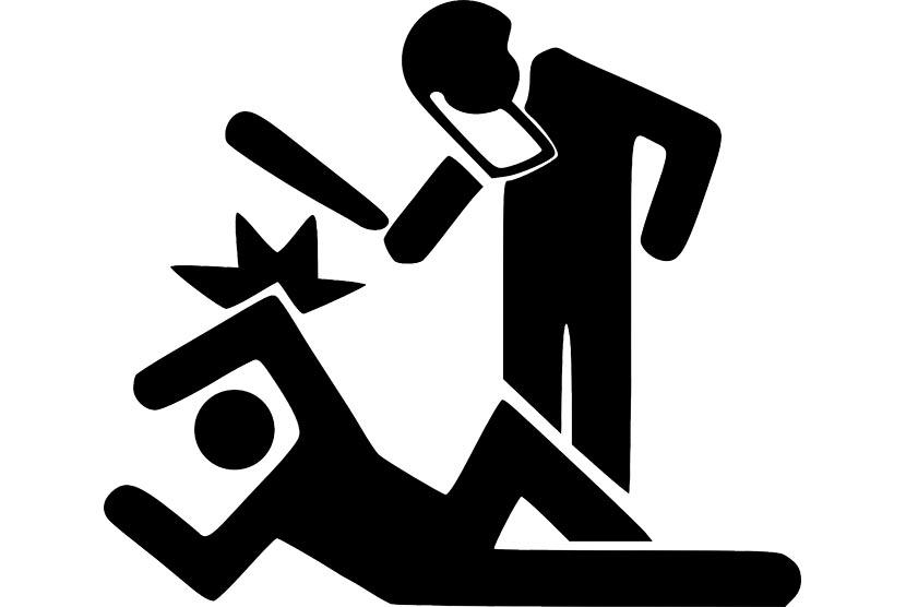 Ilustrasi kekerasan.