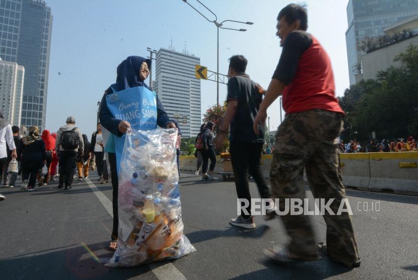 Komunitas Gelar Kampanye Buang Sampah Pada Tempatnya Republika Online