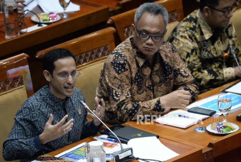 Seusai Raker Perdana, Nadiem Yakin Dapat Dukungan DPR | Republika ...