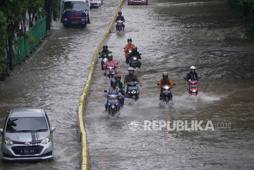 Banjir Jakarta (ilustrasi)