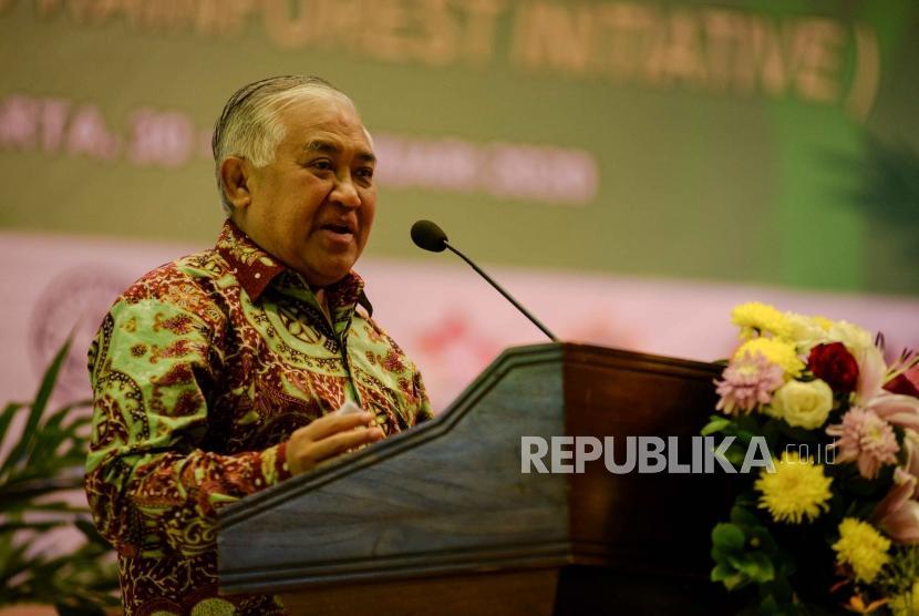 Mantan Ketua Umum PP Muhammadiyah Din Syamsuddin