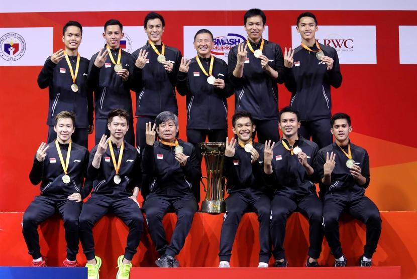 Juara Turnamen Beregu Asia Indonesia Tatap Thomas Cup Republika Online