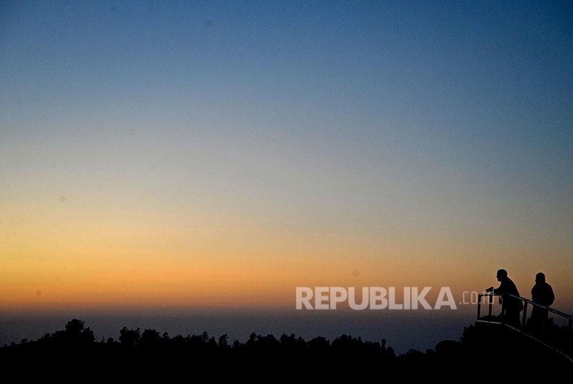 Danau Kelimutu. (Republika/Prayogi)
