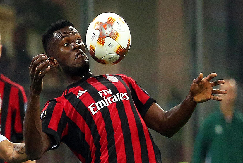 Pemain AC Milan Franck Kessie.