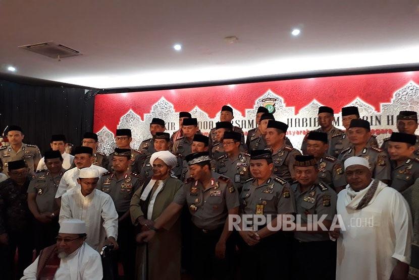 Mapolda Metro Jaya undang ulama dan habaib untuk gelar zikir bersama.