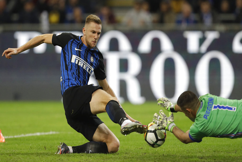 Pemain Inter Milan Skriniar.