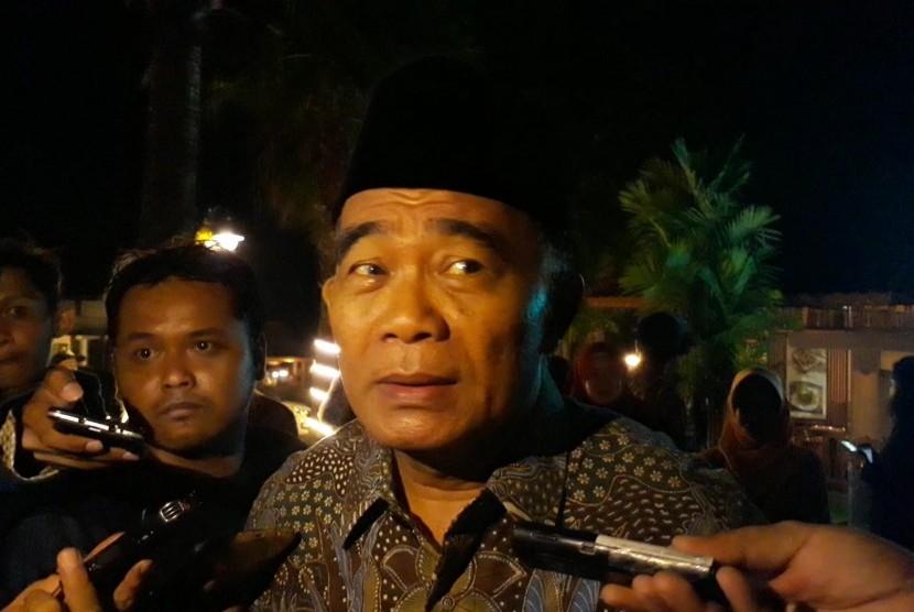 Menteri Pendidikan dan Kebudayaan (Mendikbud), Muhadjir Effendy