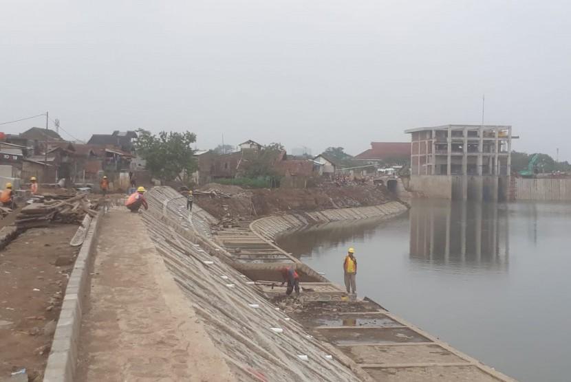 Pembangunan Kolam Retensi Bogor Rampung 100 Persen Republika Online