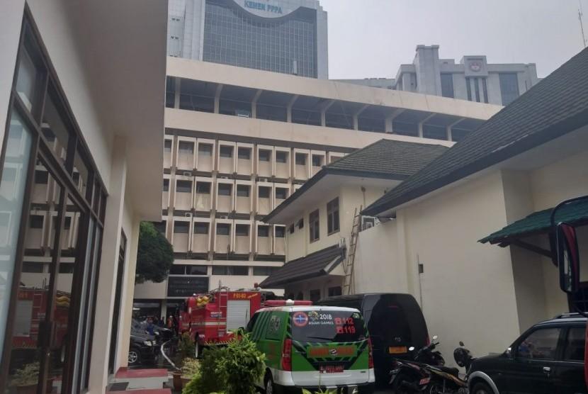 gedung Kementerian Pemberdayaan Perempuan dan Perlindungan Anak (PPPA), Jakarta Pusat.