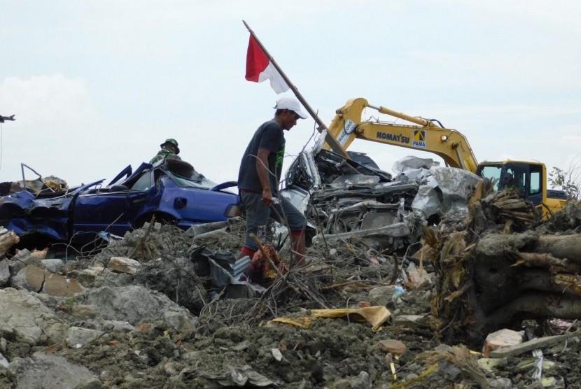 (Ilustrasi) Keadaan Petobo, Kota Palu, Sulawesi Tengah setelah genap sebulan terjadinya likuefaksi, Jumat (9/11).