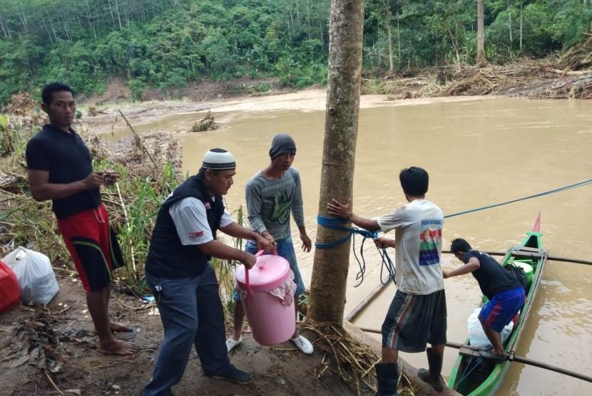 Banjir melanda sebagian besar wilayah Lampung (ilustrasi)