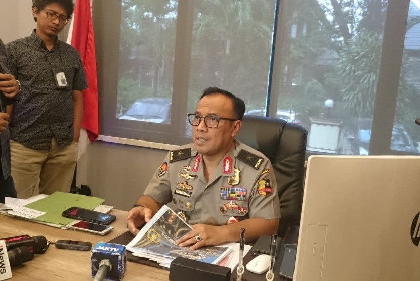 Spokesperson of the National Police, Brigadier General Dedi Prasetyo