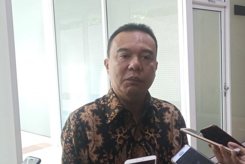Anggota Komisi III DPR RI Fraksi Gerindra Sufmi Dasco Ahmad di DPR RI, Jakarta, Rabu (23/1).