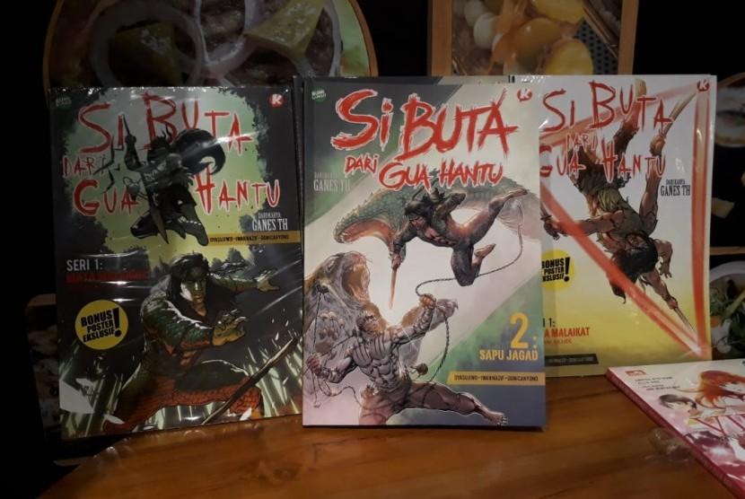 Edisi Kedua Komik Remake Si Buta Dari Gua Hantu Dirilis Republika Online