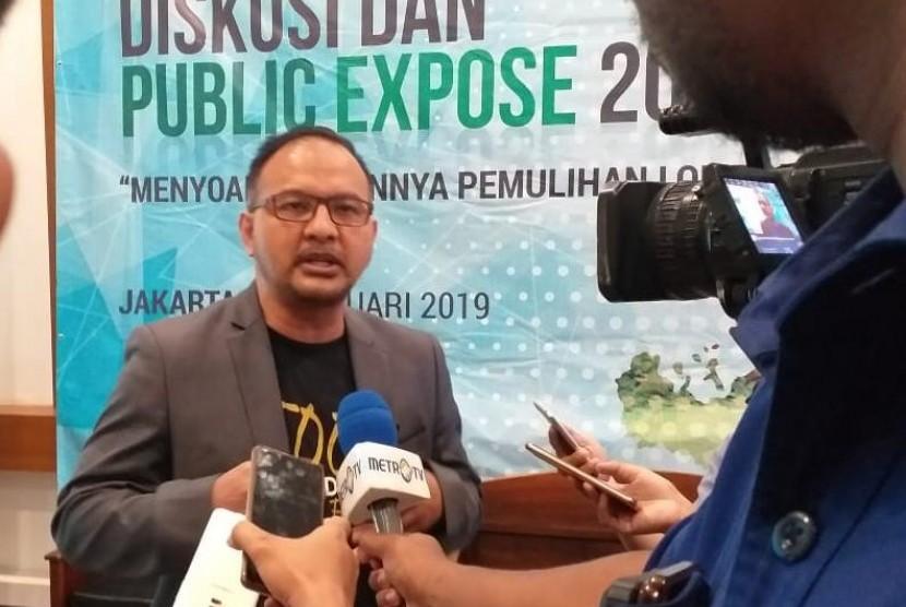 Direktur Utama Dompet Dhuafa Filantropi, drg Imam Rullyawan