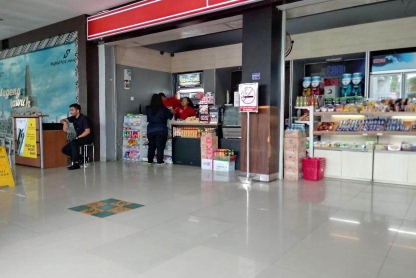Suasana di Bandara Internasional Adisutjipto Yogyakarta.
