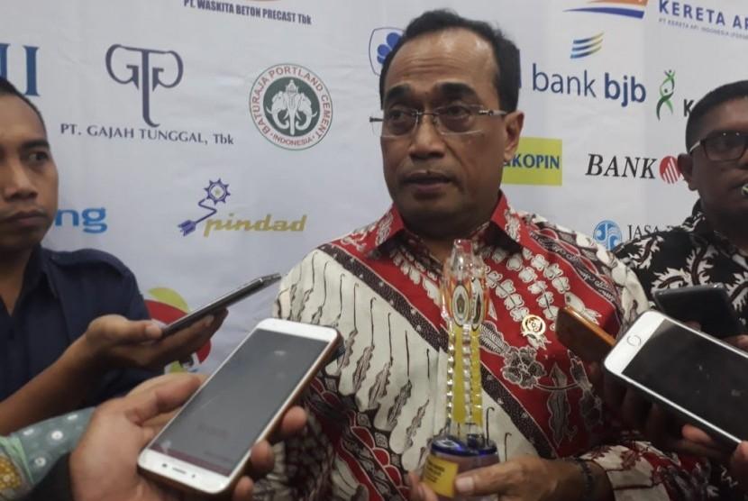 Transportation Minister Budi Karya Sumadi