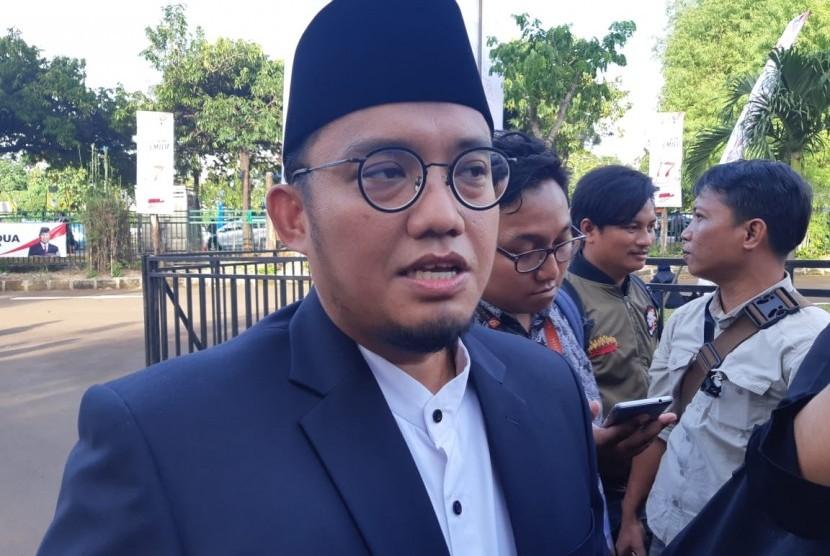 Koordinator Juru Bicara Badan Pemenangan Nasional (BPN) Prabowo-Sandiaga, Dahnil Anzhar Simanjuntak.