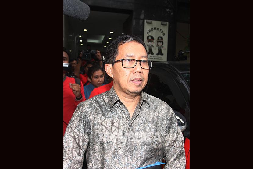 Mantan pelaksana tugas PSSI Joko Driyono