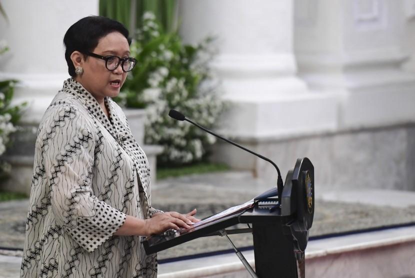 Menteri Luar Negeri Retno LP Marsudi.