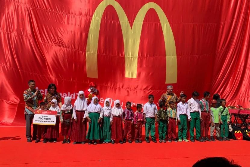 McDonald's Buka Gerai ke-200 di Indonesia dan Pertama di Banjarmasin.