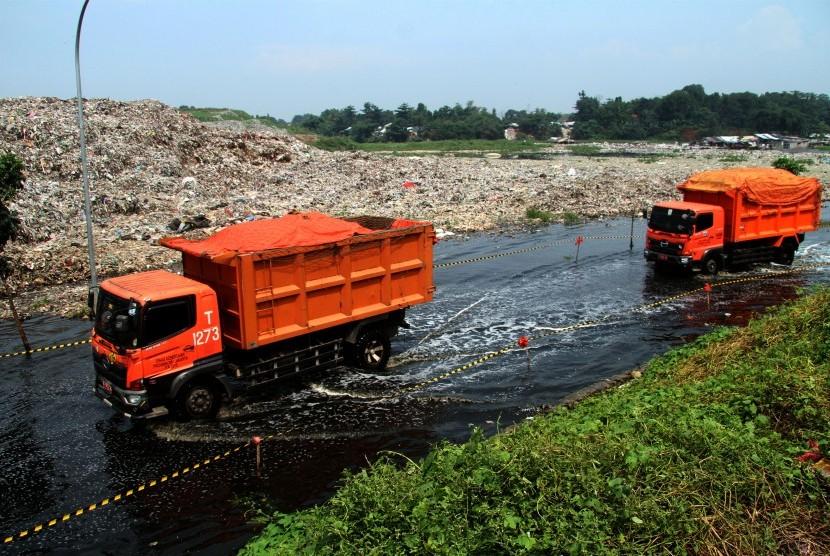 Truk sampah (ilustrasi)