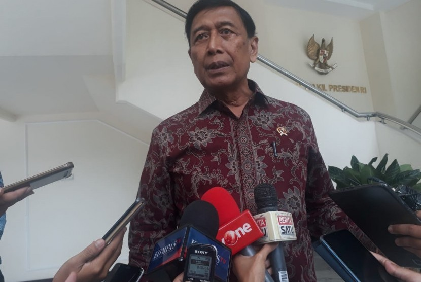 Coordinating Minister for Political and Security Affairs Wiranto