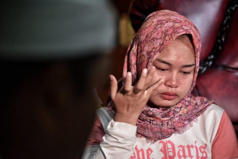 Keluarga petugas KPPS yang meninggal dunia di Kabupaten Purwakarta