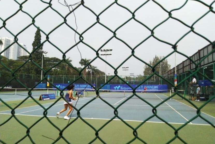 World Tennis Tour W15 yang diadakan PP PELTI di Jakarta, 24-30 Juni 2019.