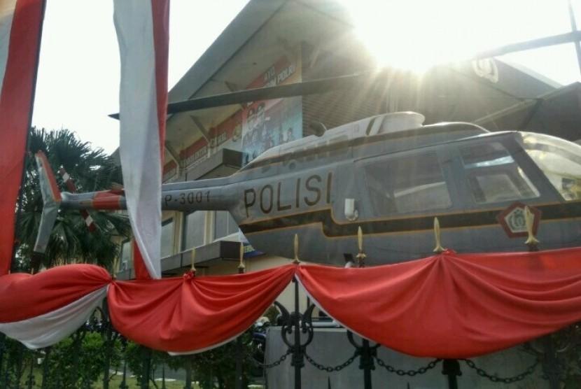 Museum Polri di Jalan Trunojoyo Nomor 3, Kebayoran Baru, Jakarta Selatan, Rabu (26/6)