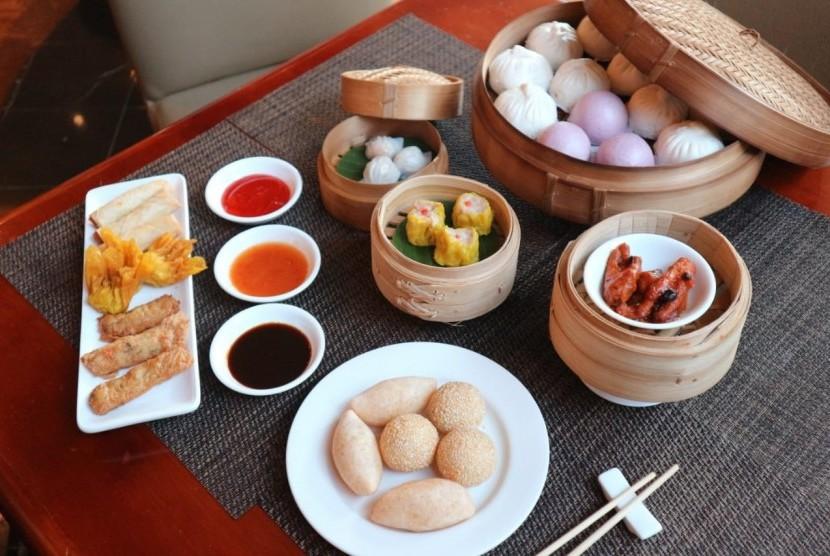 Berbagai varian dimsum tersedia di All You Can Eat 'Sunday Dimsum Feast' di Millennium Hotel Sirih Jakarta