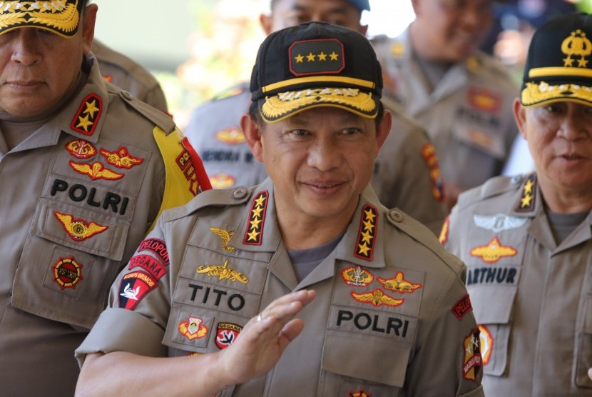 National Police Chief General Tito Karnavian.