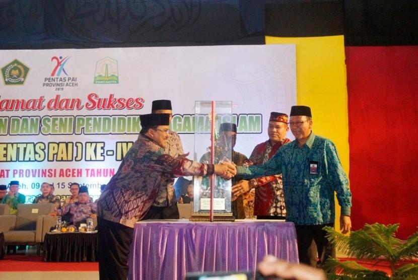 Pekan Keterampilan dan Seni Pendidikan Agama Islam (Pentas PAI) ke-4 tingkat provinsi Aceh resmi dibuka pada Selasa malam 10 September 2019. Acara ini berlangsug mulai 9-15September 2019.