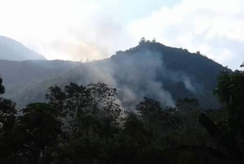 Gunung Guntur, Kabupaten Garut (ilustrasi).