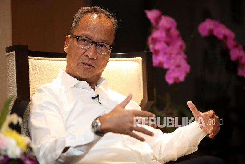 Menteri Perindustrian Agus Gumiwang Kartasasmita. Kementerian Perindustrian (Kemenperin) bertekad semakin menggaungkan program Peningkatan Penggunaan Produk Dalam Negeri (P3DN).