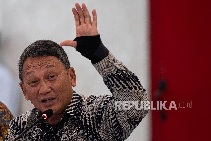 Menteri ESDM Arifin Tasrif. Arifin mengaku, Indonesia perlu transisi energi untuk melepas ketergantungan atas bahan bakar fosil.