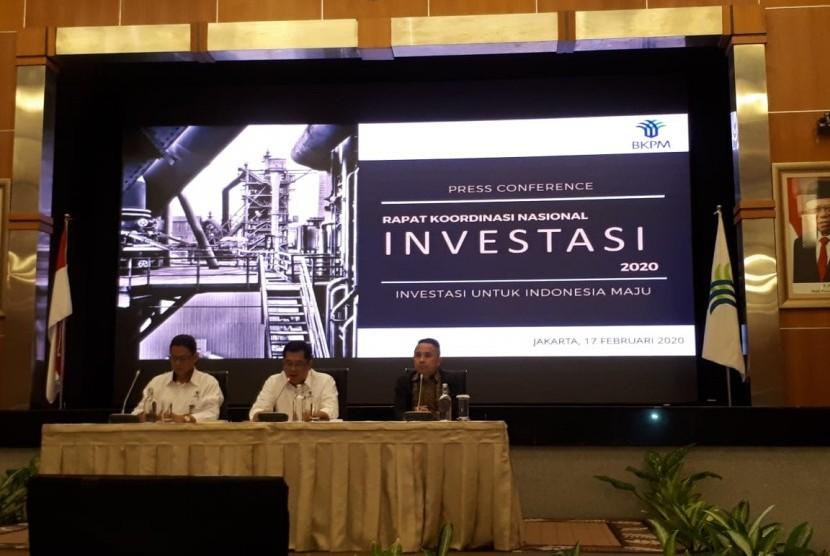 BKPM Akan Gelar Rakornas Investasi 2020