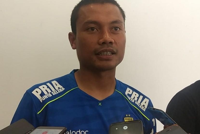 Pemain Persib Bandung, Dedi Kusnandar alias Dado.