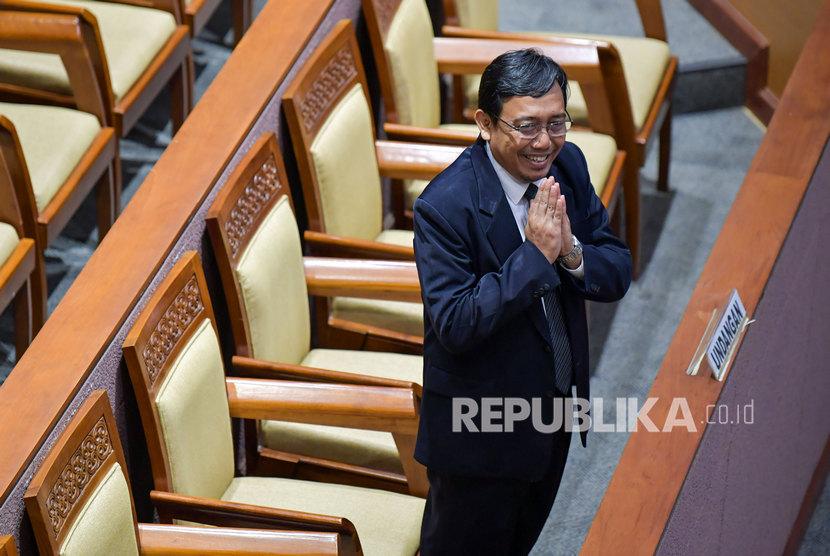Komisioner Komisi Pemilihan Umum (KPU) yang baru, I Dewa Kade Wiarsa Raka Sandi