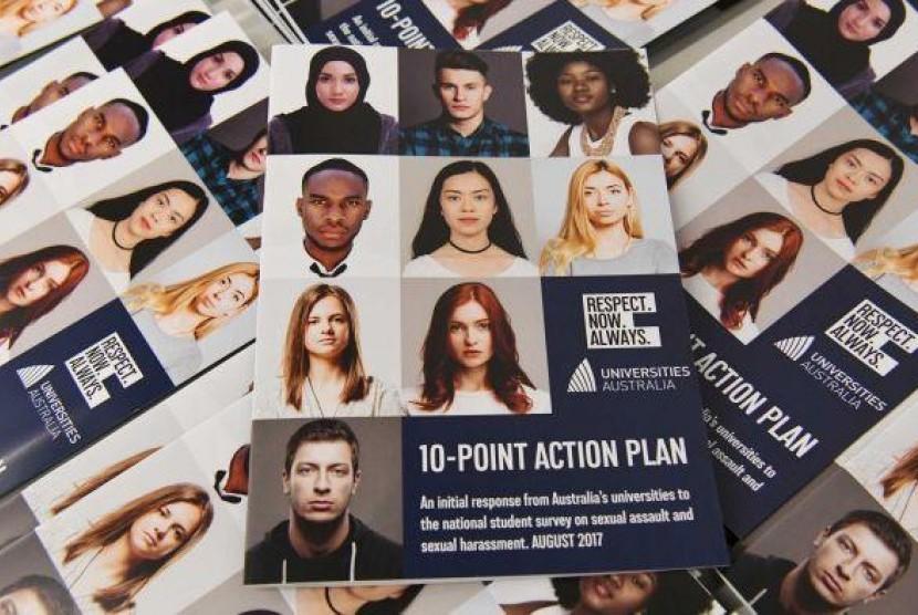 51 persen mahasiswa di Australia alami pelecehan seksual. (ilustrasi)