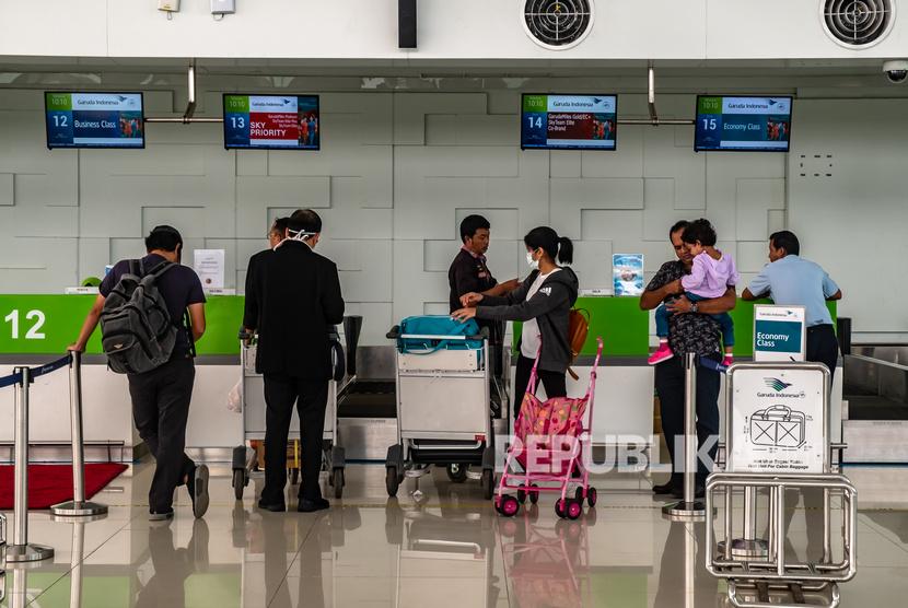 Mobilitas di Bandara Ahmad Yani Turun Hingga 85 Persen (ilustrasi).