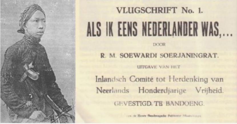 Ki Hajar Dewantara: Als Ik Eend Nederland Was | Republika Online